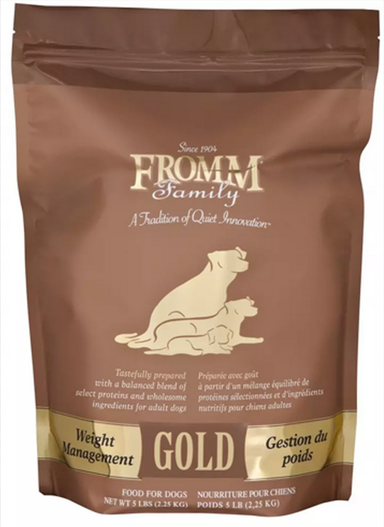 Fromm Gold Weight Management Dog Food - Meow and Growl