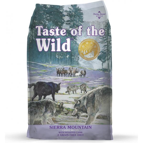 Taste of the Wild - Sierra Mountain - Roasted Lamb