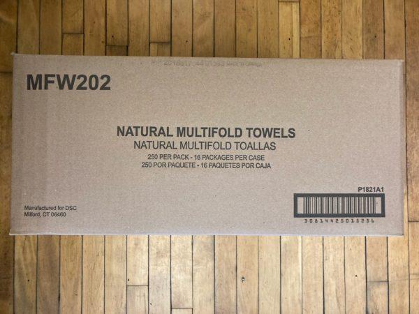 Multifold Towel - Natural
