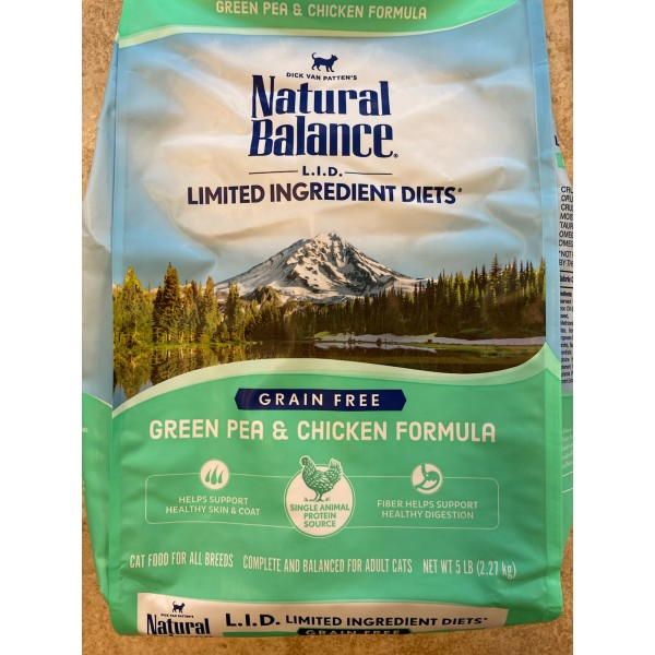 Natural Balance Green Pea & Chicken Formula